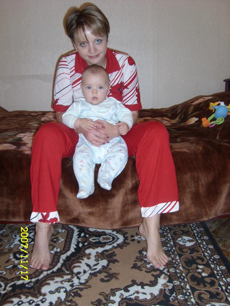 Я с моим самым любимым человечком на Свете))). Вместе с мамой