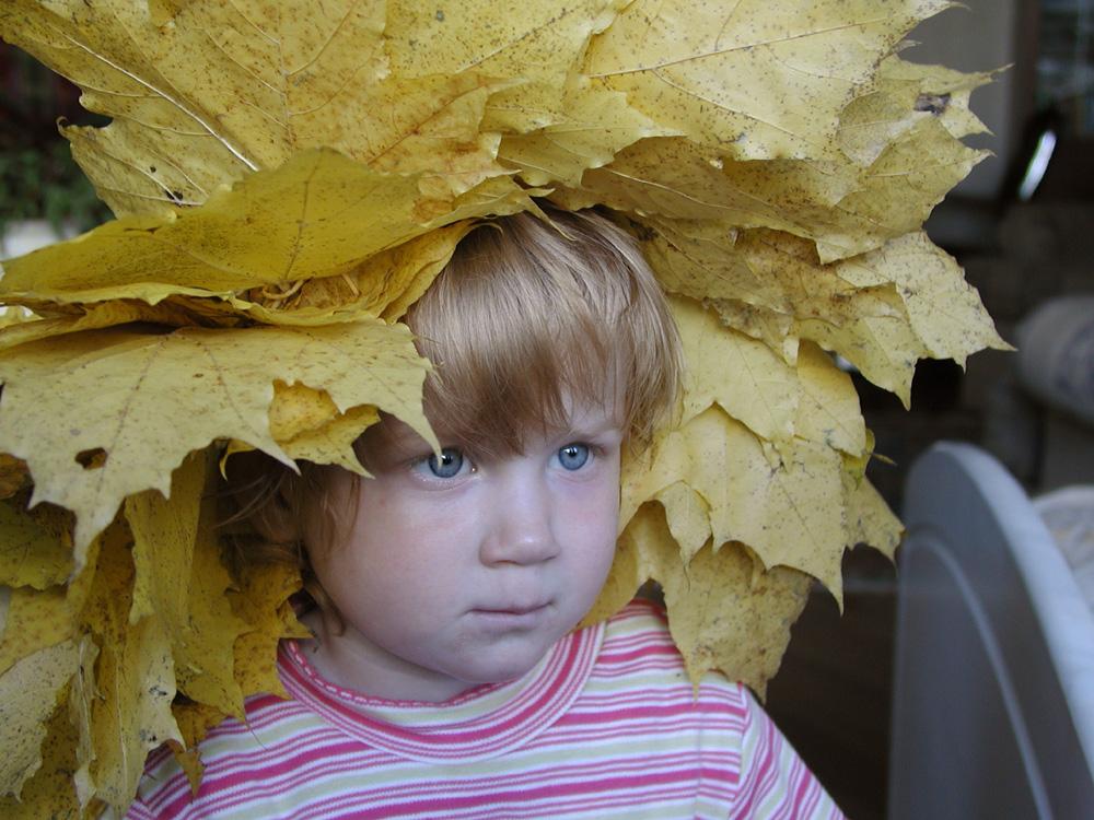 Осеннее настроение.. Дети: художественное фото
