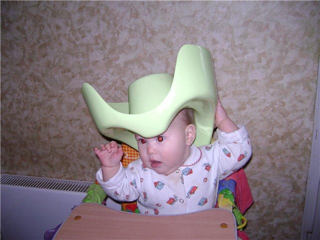 чем не шляпа?. Малыши