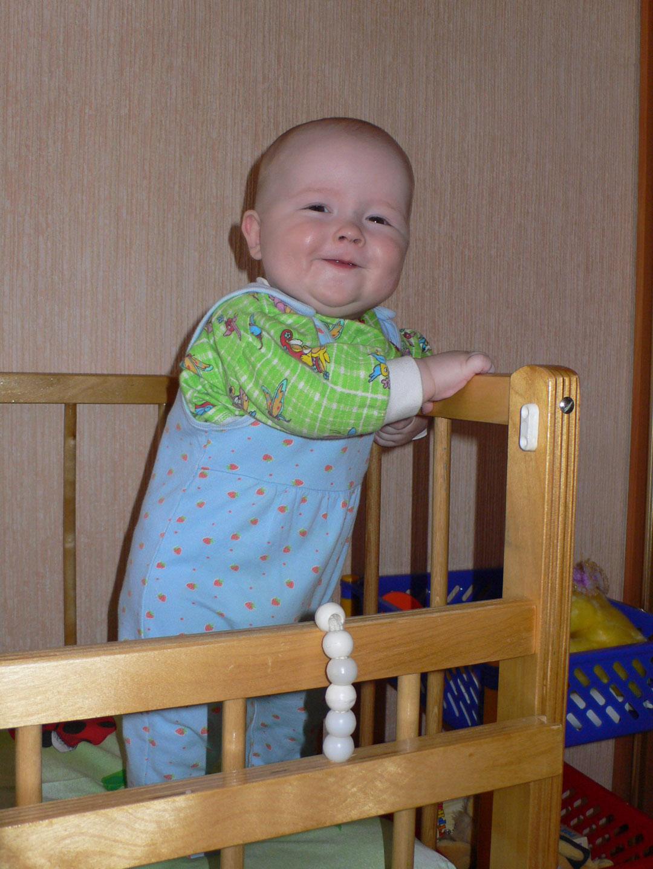 Я проснулся раньше мамы, сам пойду сейчас поем!. Поделись улыбкою своей
