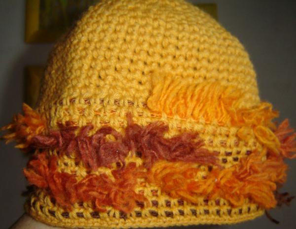 Шапки, шляпки, панамки и др.  вязаные головные уборы