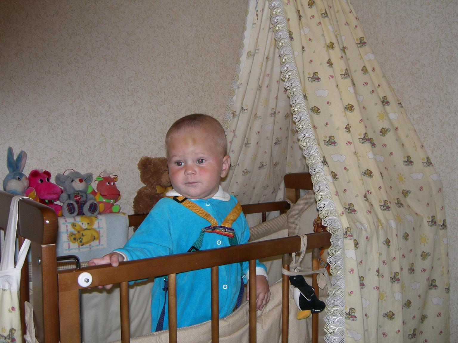 Мой уютный домик. Дети в кроватках и манежах
