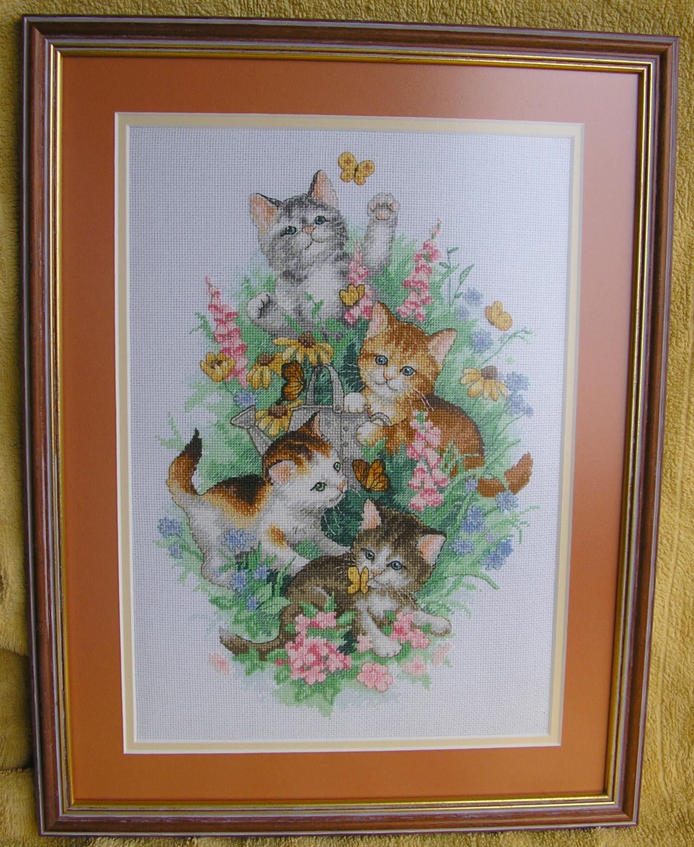 'Playful kitties' набор Dimensions . Детские сюжеты