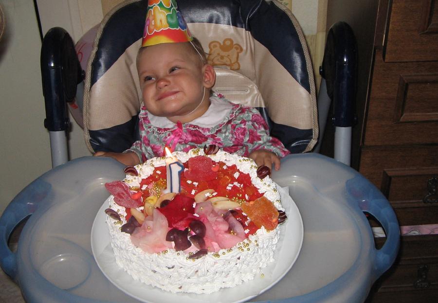 мой первый день рождения. День рождения