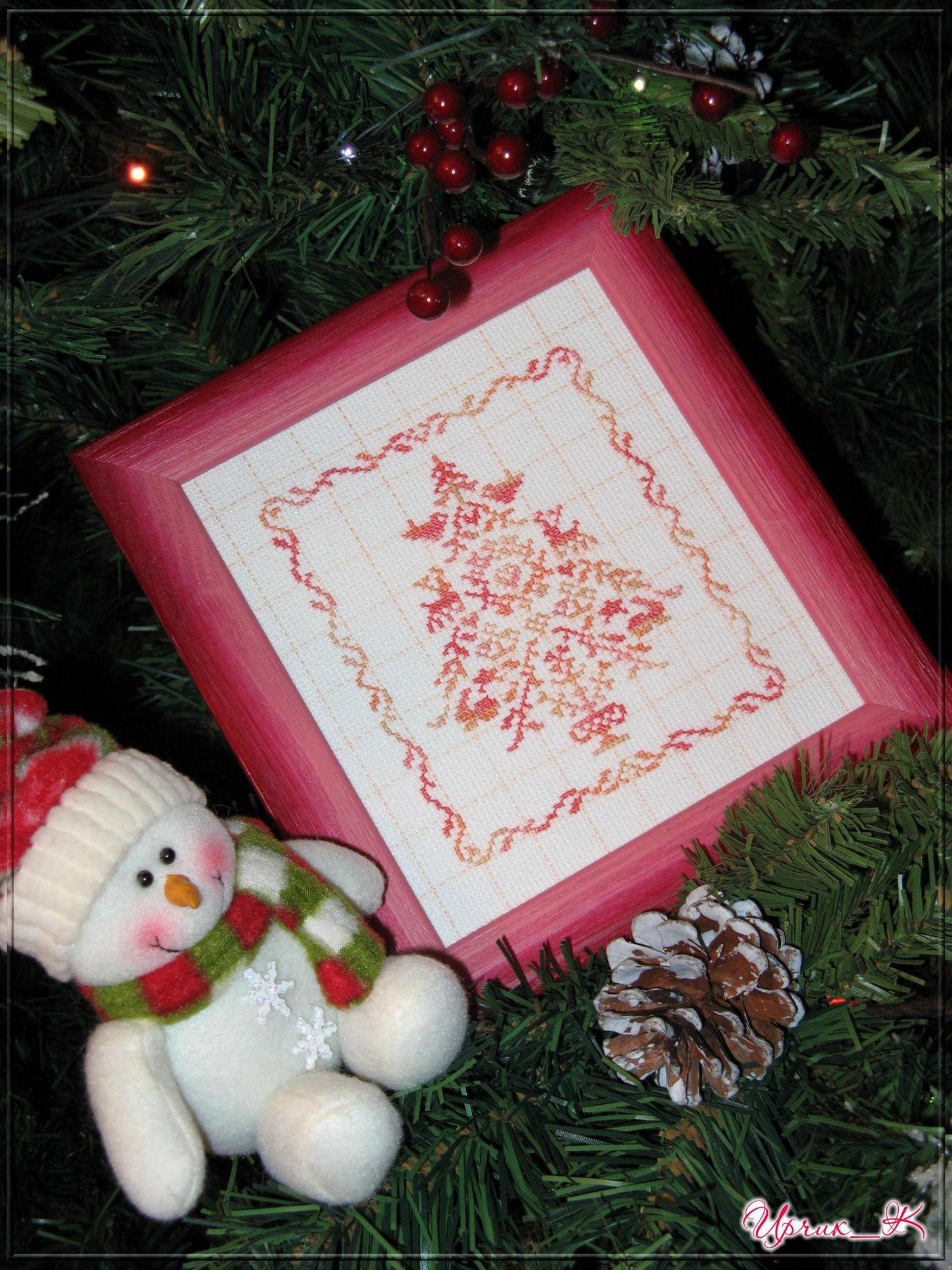 JBW 144 - Christmas Motif Sampler. Рождественские и новогодние мотивы