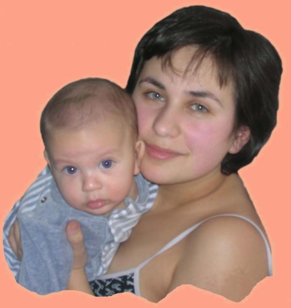Я и мой сынульчик!. Вместе с мамой