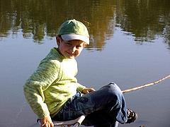 На рыбалке. Охота и рыбалка