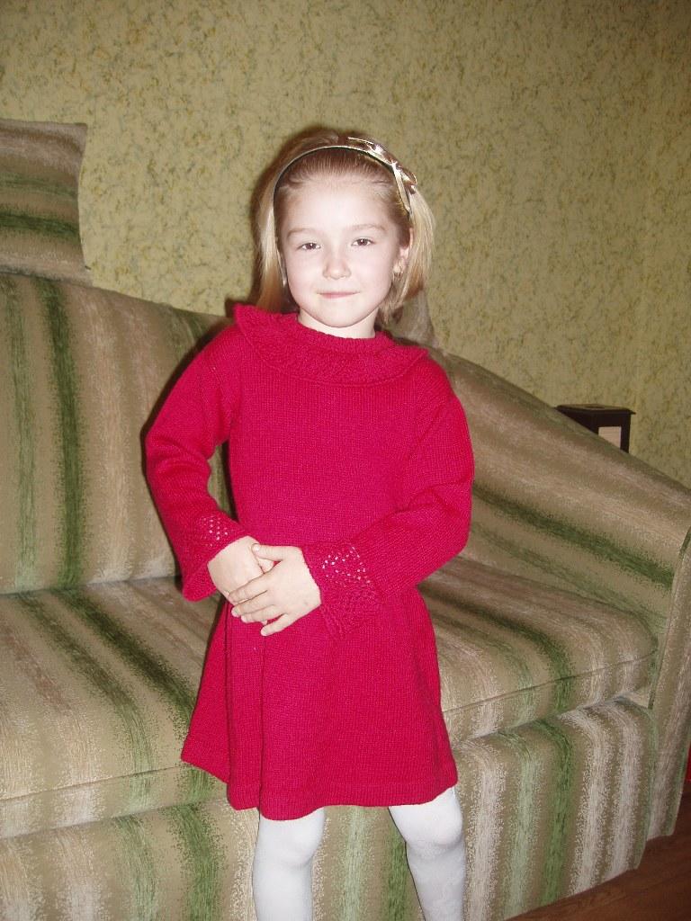 П/ш платье. Одежда для детей