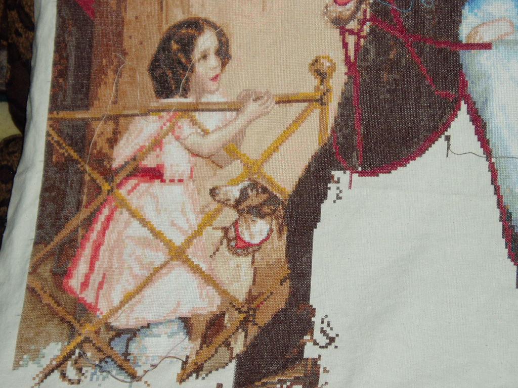 Девочка из Всадницы. Женские образы
