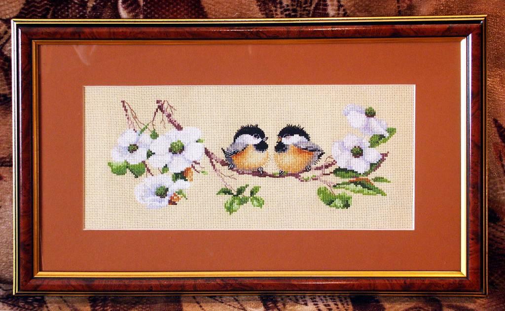'Blossom buddies' Heritage. Конкурс вышитых работ Матушка-Весна