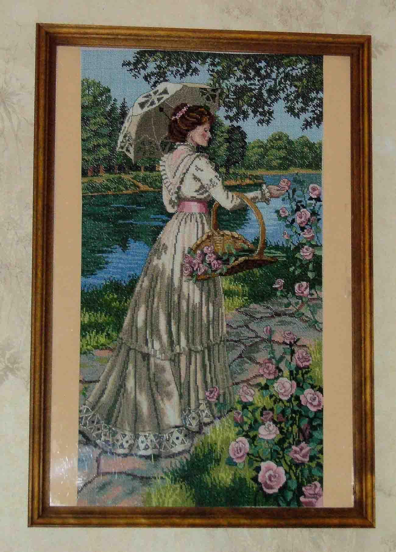 Весенняя прогулка. Конкурс вышитых работ Матушка-Весна