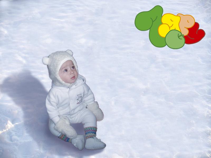 Даже белые мишки на северном полюсе мечтают поздравить 7ю с днём рождения!. Моя 7я!!