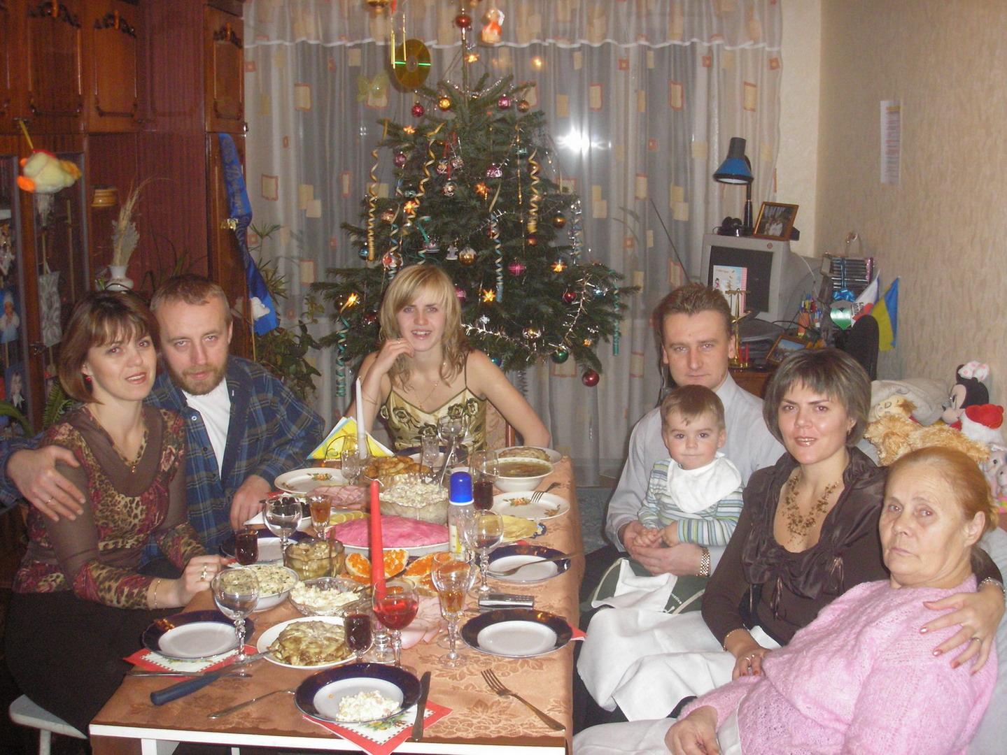 Праздник дома удался!!!. Наша дружная семья - праздник дома удался!