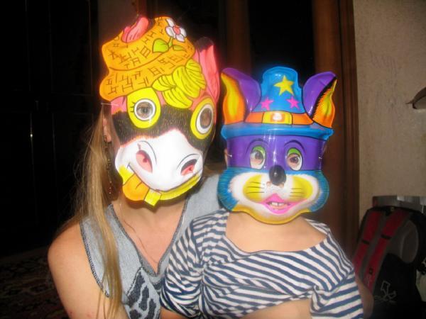 Да здравствует карнавал!!! Отгадайте кто мы?. Наша дружная семья - праздник дома удался!