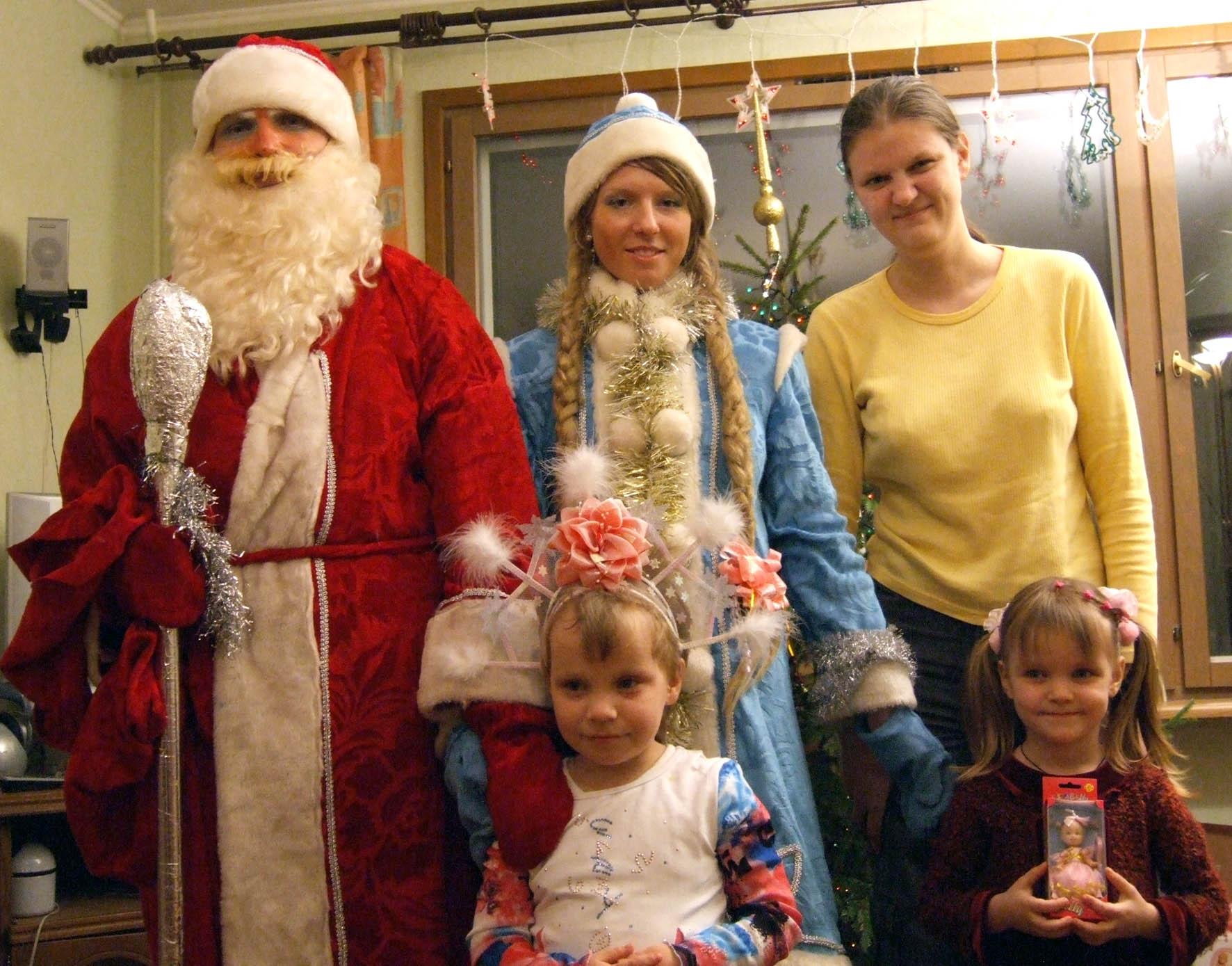 И маленьким и большим в Новый год нужен Дед Мороз!. Наша дружная семья - праздник дома удался!
