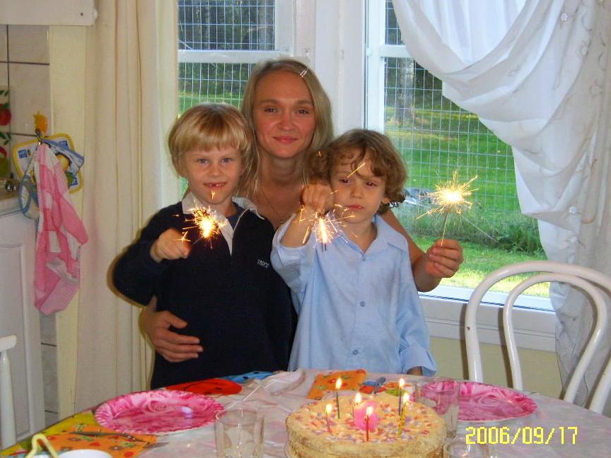 День рождения!. Наша дружная семья - праздник дома удался!