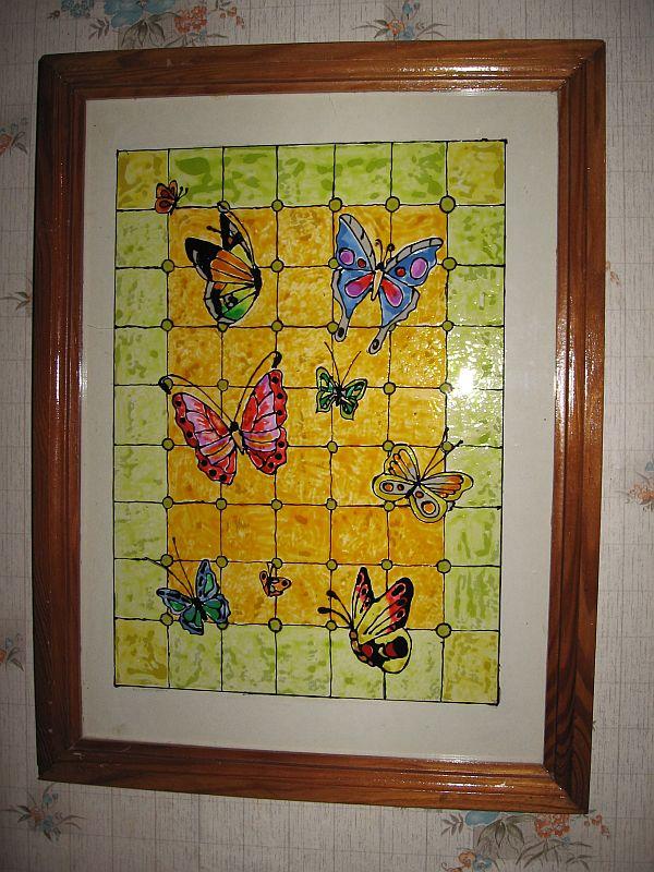 Бабочки. Рисунок