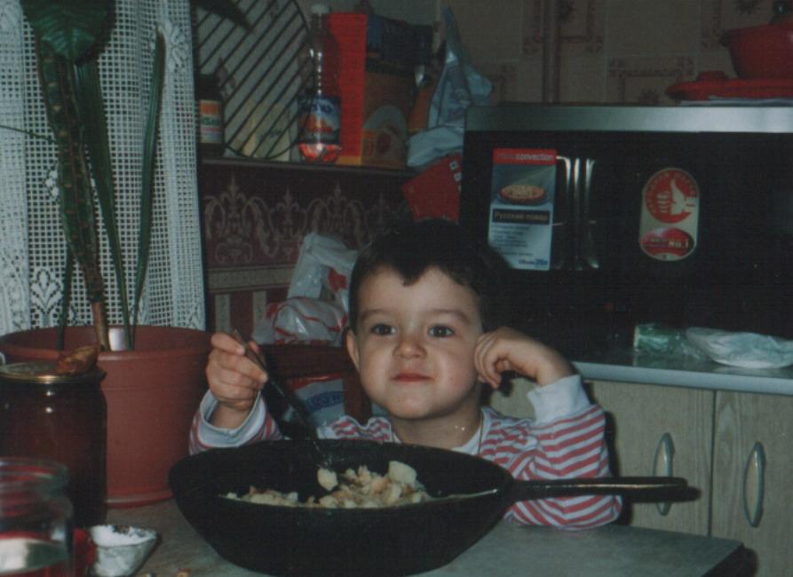 А Вам слабо съесть сковородку картошки?. Пальчики оближешь!