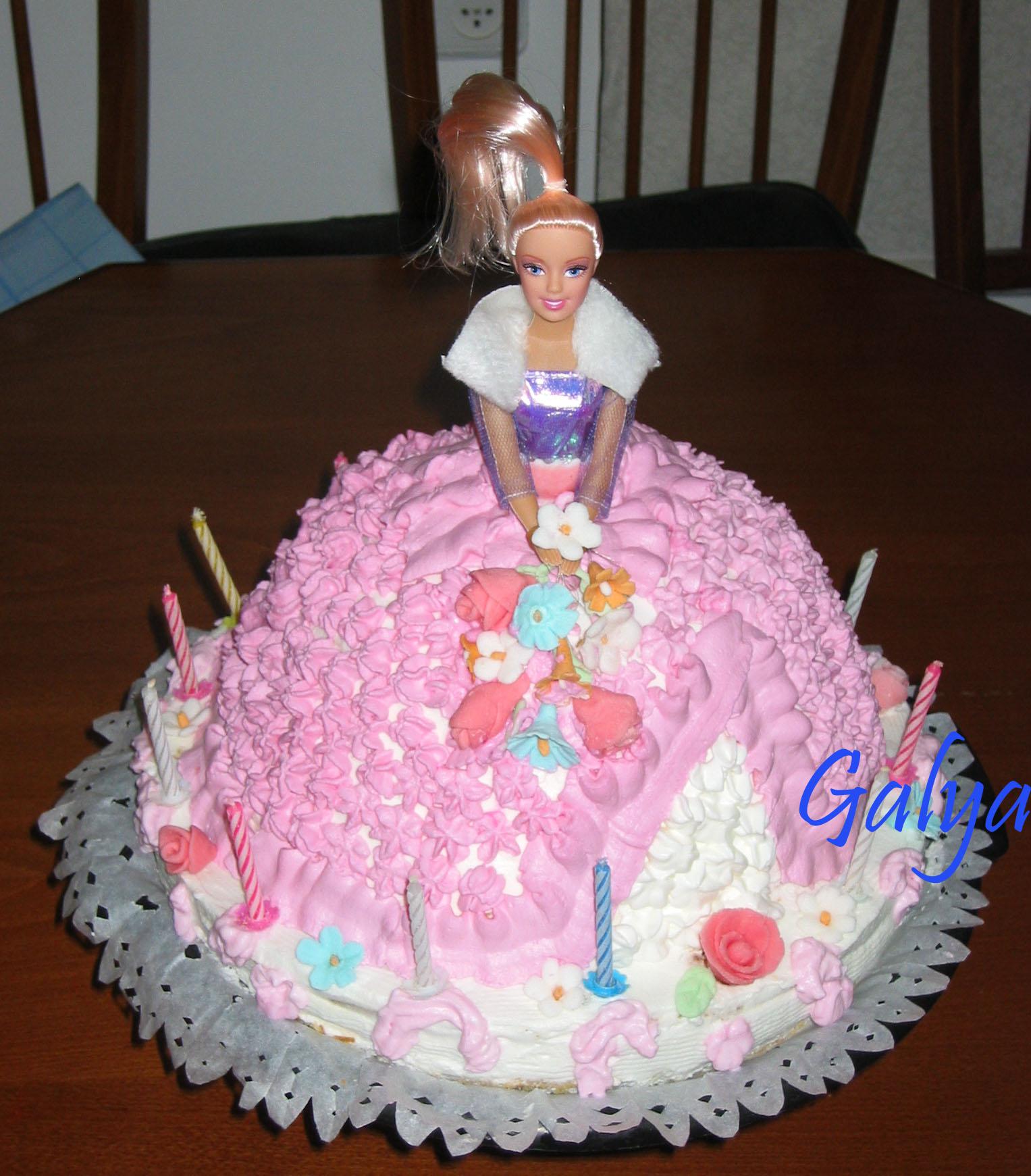 Кукла. Кулинария: торты и пирожные