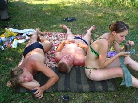 Отдыхали-отдыхали,и немножко мы устали!!!. Отдых на природе