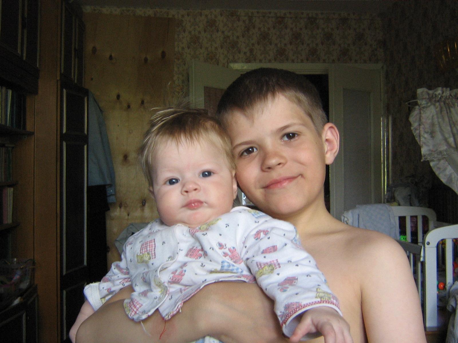 Мои дети. Братишки и сестренки