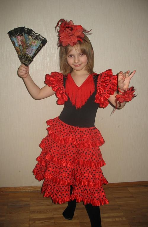 танцы испании. Карнавальные костюмы