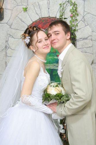 Вот такие мы красивые)). Бракосочетание