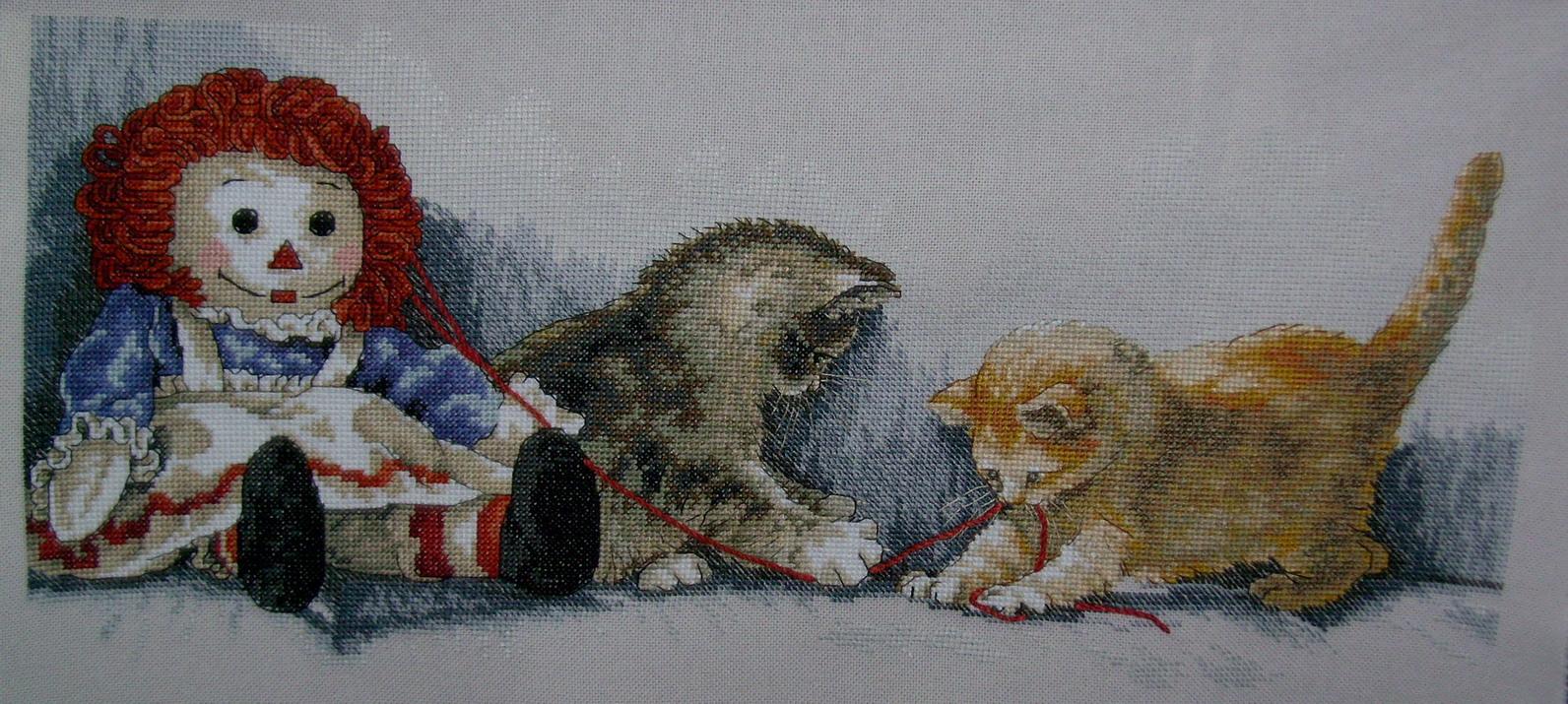 Dim озорные котята. Животные