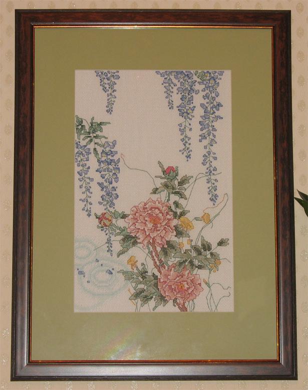Глициния 1. Растения (в основном цветы)