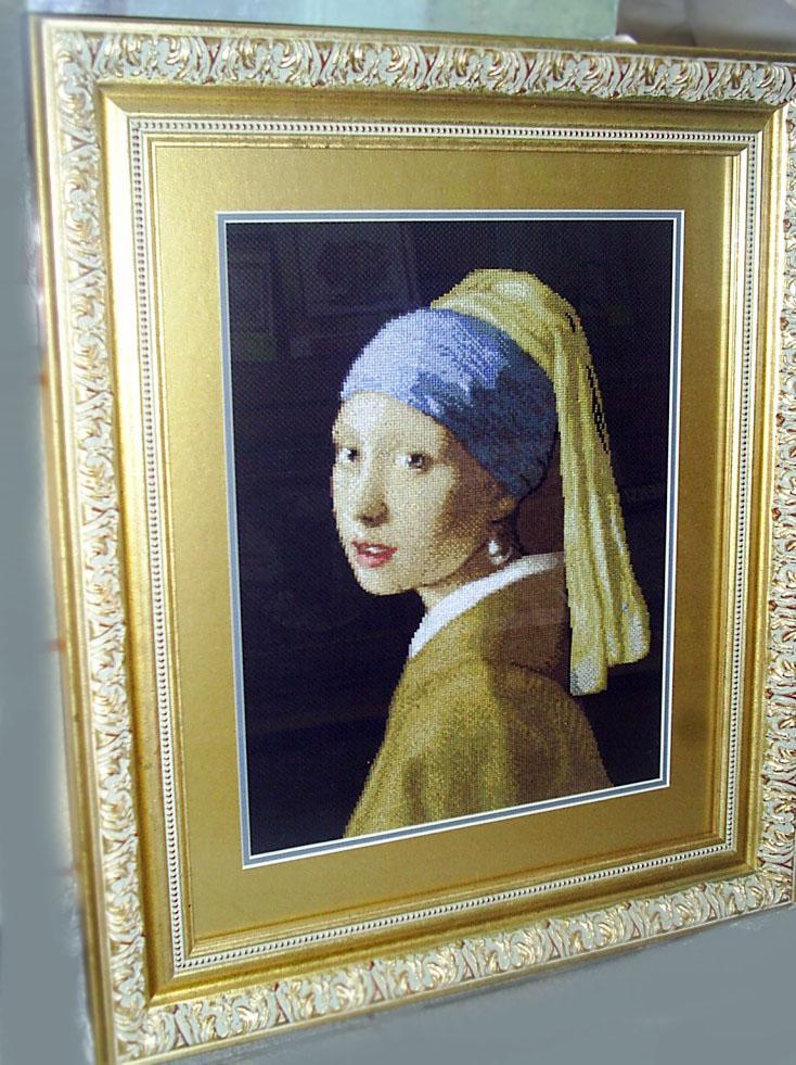 Девушка с жемчужной сережкой. Портреты