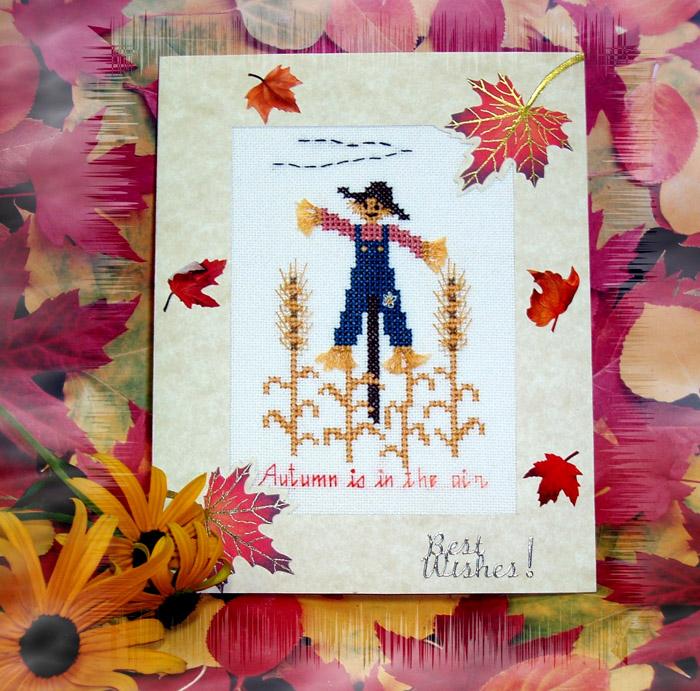 5 - автор Shpinelka - для LEshik. Осенние открытки получены