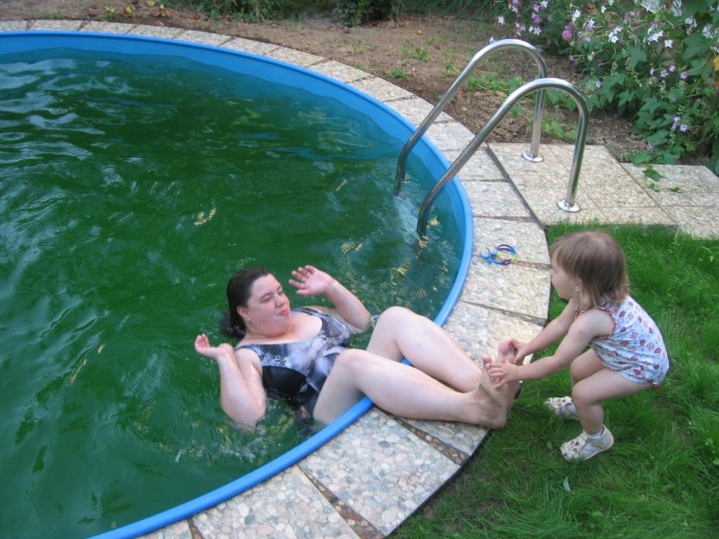 мама и я. Водные процедуры