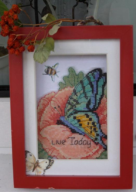 Многострадальная бабочка. Феи,  эльфы, бабочки и др. насекомые