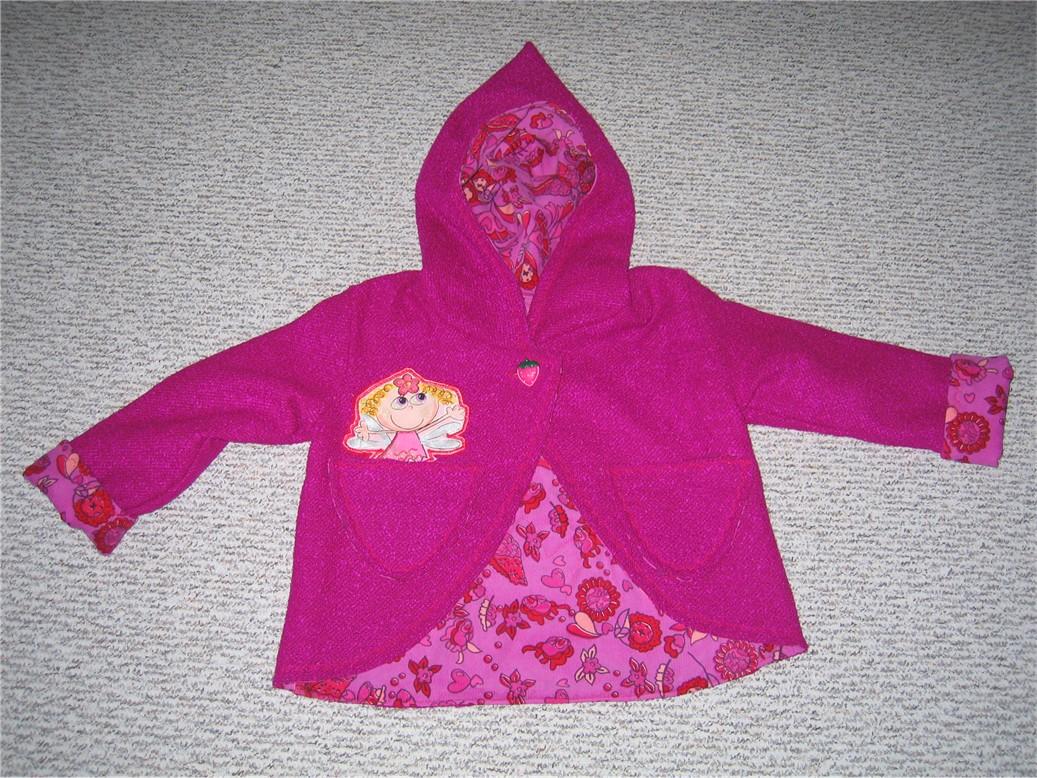 Двусторонняя куртка. Одежда для детей