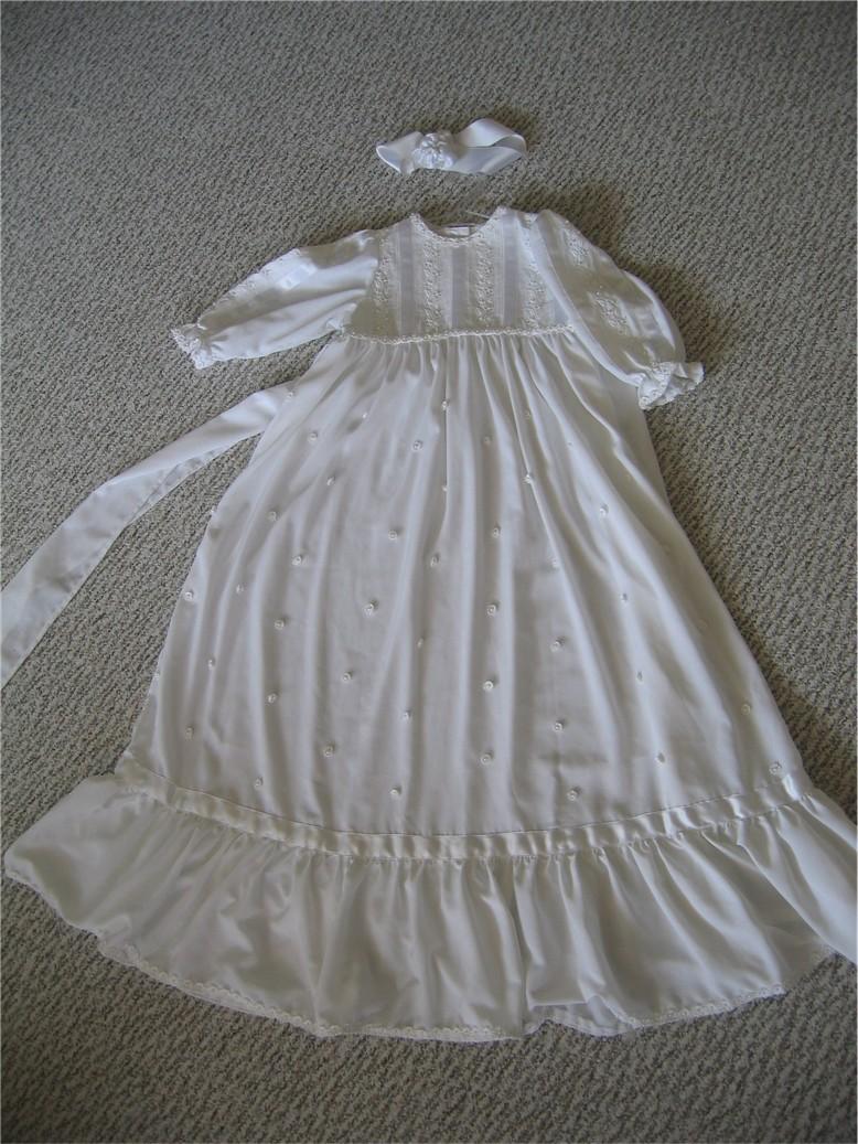 Крестильное платье. Шитье