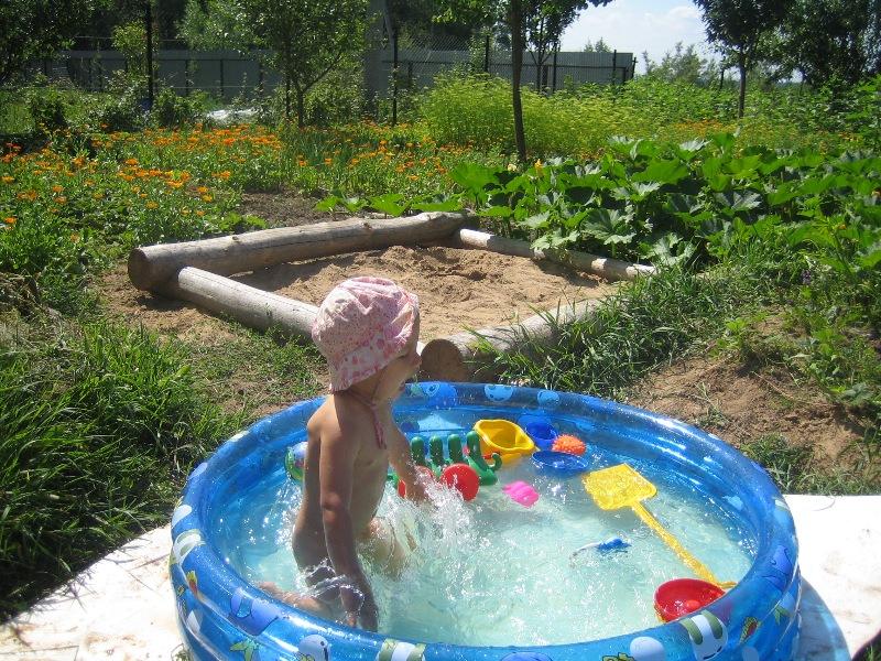 Веселое купание. Маленький Тарзан