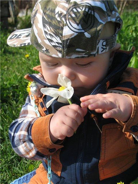 Андрюша: лети, лети лепесток. через запад на воток.... Маленький Тарзан