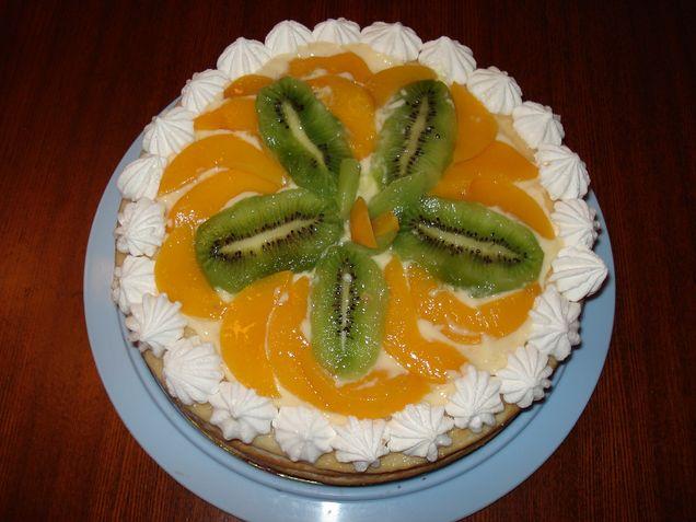 Торт на первый День рождения!. Кулинария: торты и пирожные
