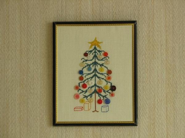 Елка с пуговицами. Рождественские и новогодние мотивы