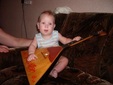 Мой первый музыкальный инструмент. Дети-музыканты