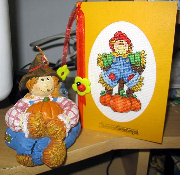 8 - автор Ирина Фоминых - для Валькирии. Хэллоуинские открытки получены