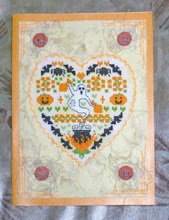 11 - автор Валькирия - для Arya. Хэллоуинские открытки получены