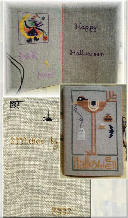 14 - автор Iira - для Понечки. Хэллоуинские открытки получены