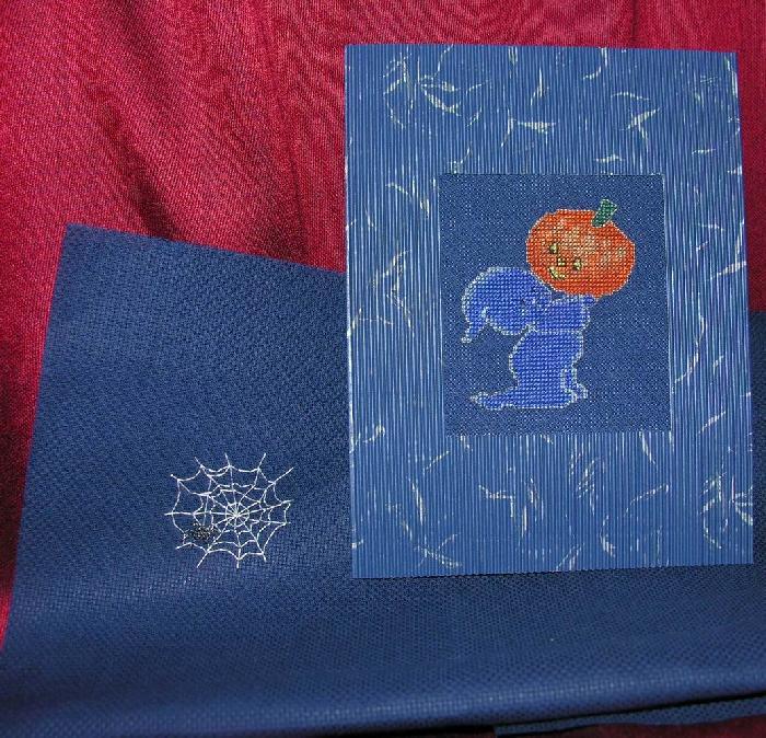 26 - автор МамАнька - для SnoLe. Хэллоуинские открытки получены