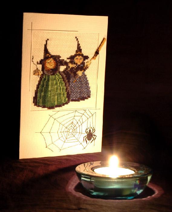 27 - автор makitra - для Нестерёнок. Хэллоуинские открытки получены