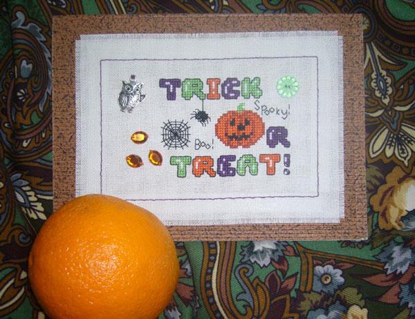 32 - автор Tatkis - для Маркуша. Хэллоуинские открытки получены