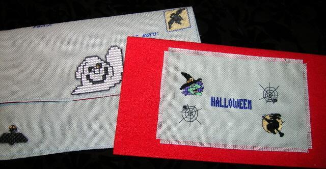 34 - автор МамАсЯ - для Shpinelka. Хэллоуинские открытки получены