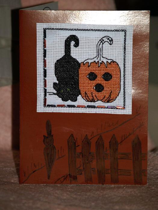 38 - автор А*лён*А - для мамАсЯ. Хэллоуинские открытки получены
