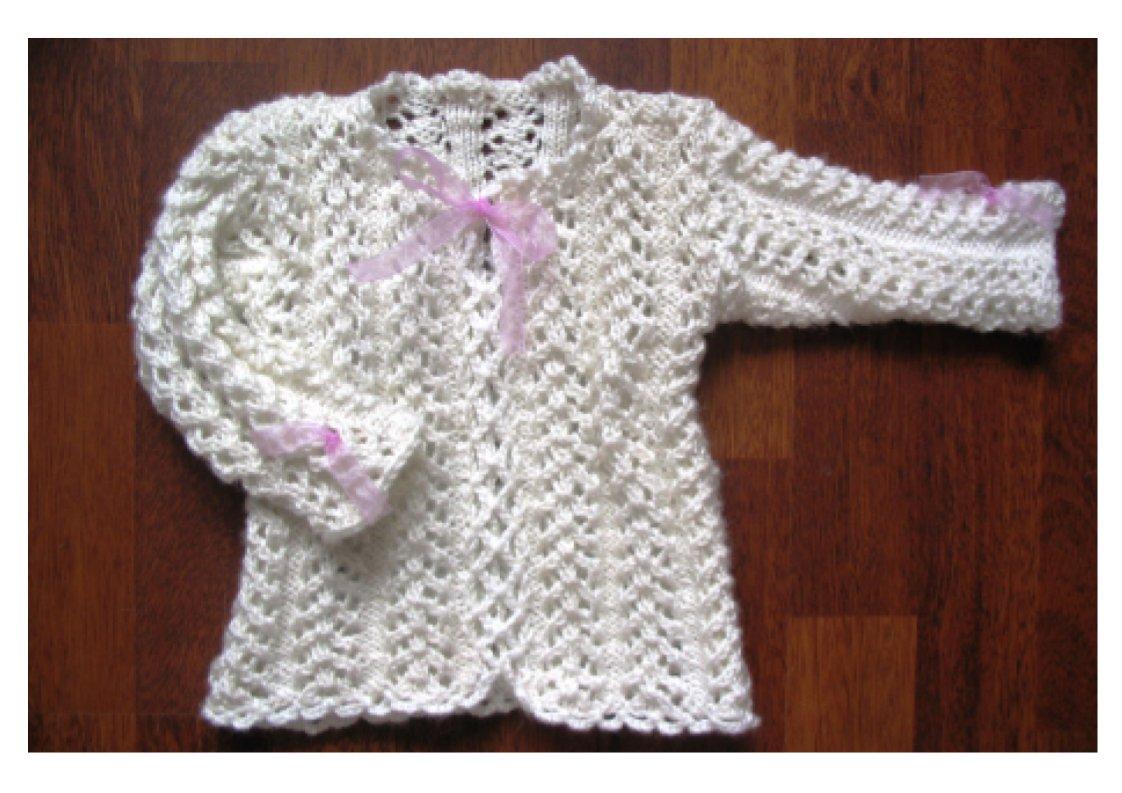 Белая ажурная. Одежда для детей