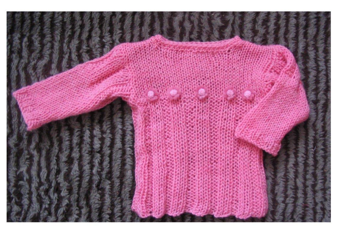 Розовая с розочками. Одежда для детей